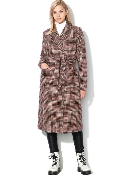 Vero Moda Palton din amestec de lana Rebel
