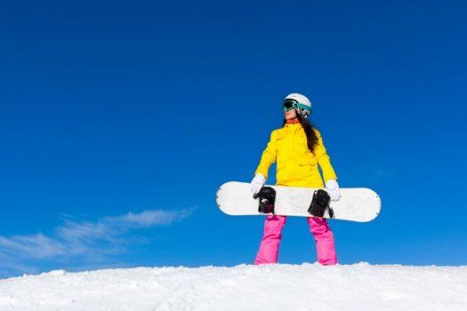 Pantaloni de dama pentru ski si snowboard, impermeabili si rezistenti la vant