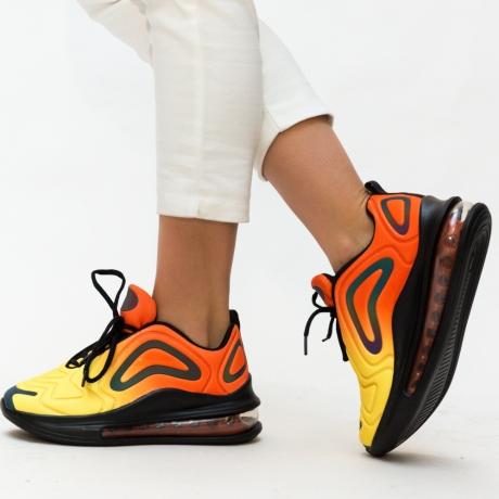 Pantofi Sport Lola Portocalii 2