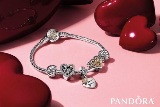Martisoare speciale – cadouri de 1&8 Martie bijuterii Pandora din argint