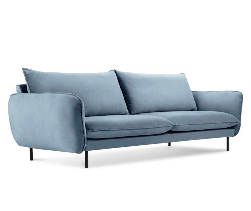 Canapea 4 locuri Vienna Light Blue