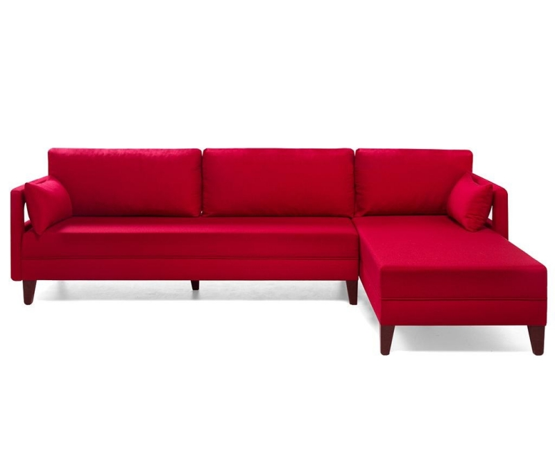 Coltar dreapta modular Comfort Red