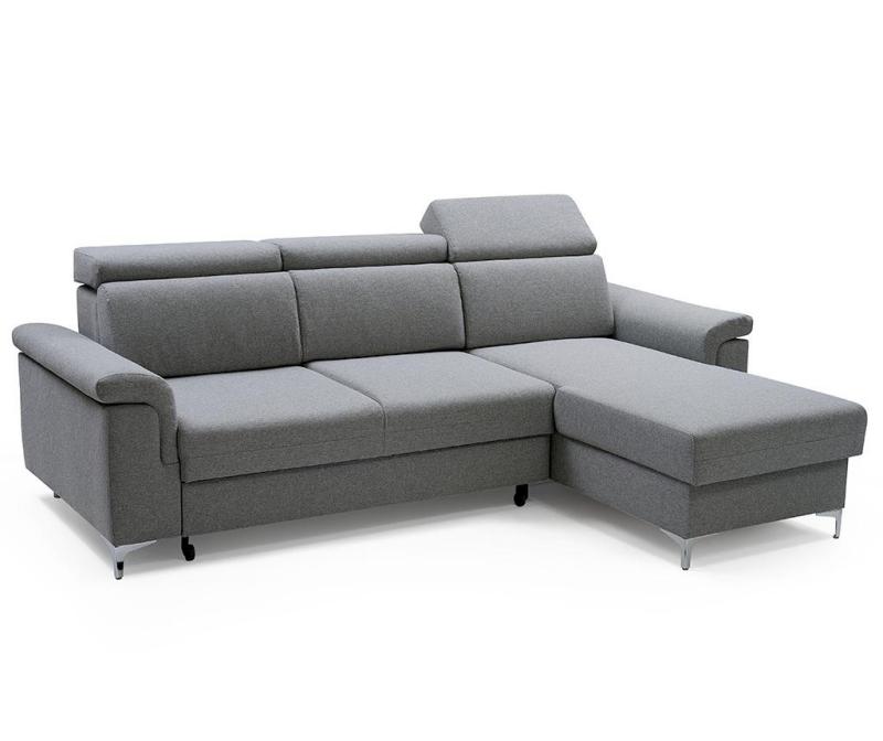 Coltar reversibil extensibil Vermont Grey