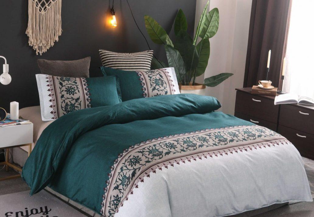 Lenjerii de pat din bumbac 100% satinat care nu necesita calcare