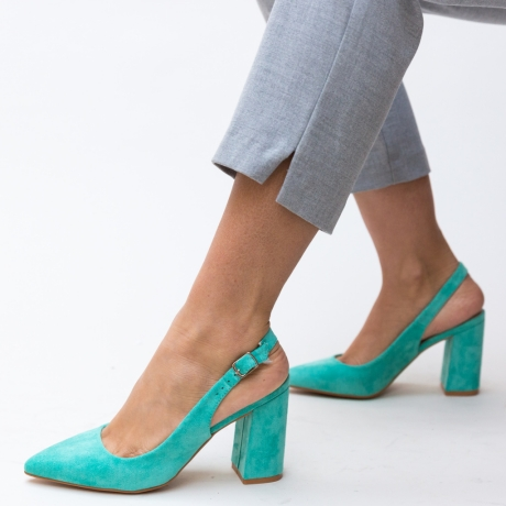 Pantofi Snider Turcoaz