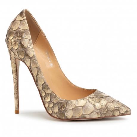 Pantofi cu toc subțire EVA MINGE