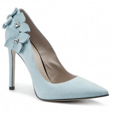 Pantofi cu toc subțire GINO ROSSI