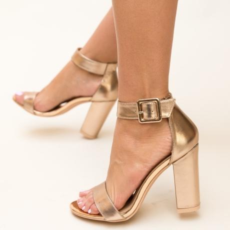 Sandale Dama Step Aurii 2