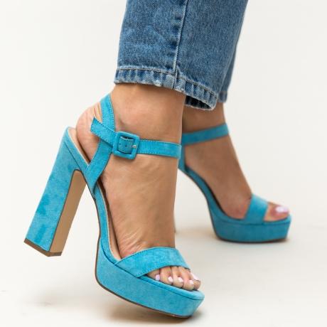 Sandale Poste Albastre