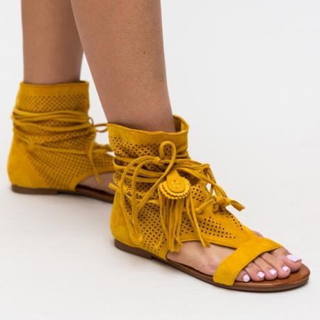 Sandale Ladonar Galbene