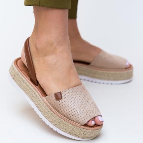 Sandale Milone Bej
