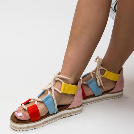 Sandale Oga Portocalii