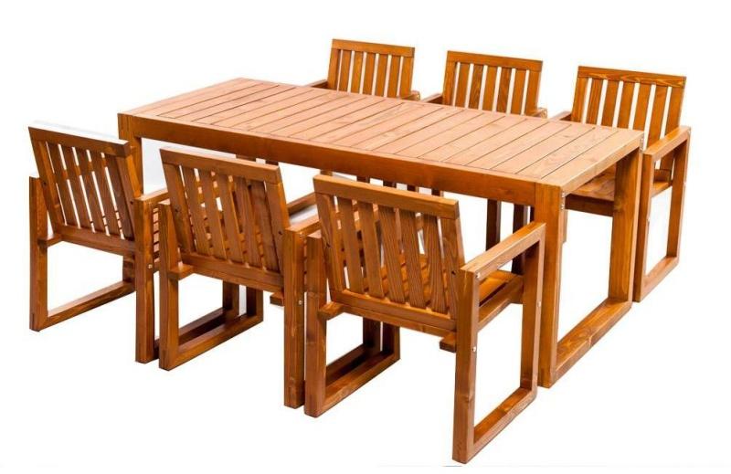Set mobilier gradina HANNA din lemn