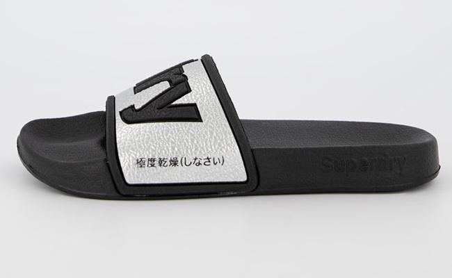 SUPERDRY Papuci cu logo
