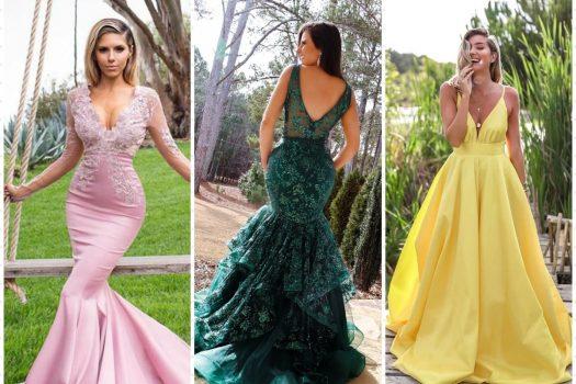 Cele mai frumoase rochii de seara lungi pentru nasa si domnisoara de onoare