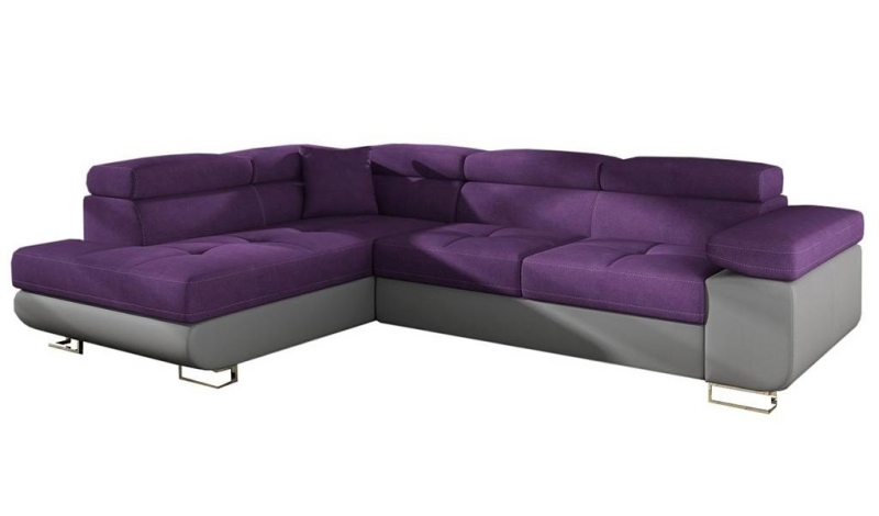 Coltar stanga extensibil Anton Purple Grey